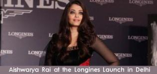 Aishwarya Rai Bachchan at the Longines Launch in Delhi
