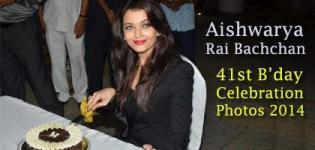 Aishwarya Rai Bachchan Birthday Party Photos 2014 - AISH 41st Birthday Celebration Pics