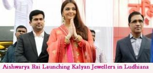 Aishwarya Rai in Ludhiana for Launching of Kalyan Jewellers Showroom