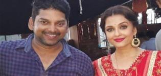Aishwarya Rai Sarbjit Hindi Movie Choreographing Pics With Vishnu Deva