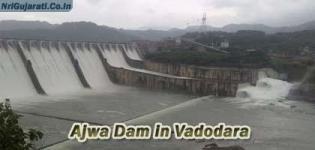 Ajwa Dam in Vadodara Gujarat - Water Level - Details - Images