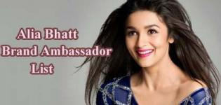Alia Bhatt Brand Ambassador List - Endorsement Photo Gallery