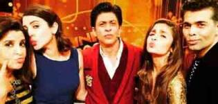 Alia Bhatt Visited Shahrukh Khan Show Sabse Shaana Kaun with Bollywood Celebrities