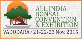 All India Bonsai Convention & Exhibition at Vadodara on 21 to 23 November 2015 by Banyan Bonsai Club