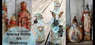 Altered Bottle Workshop, an Art Session of 2018 on 15 and 16 May in Ahmedabad City