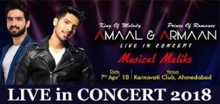 Amaal & Armaan Malik Live in Concert 2018 in Ahmedabad at Karnavati Club