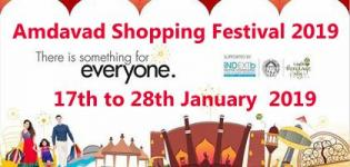 Amdavad Shopping Festival 2019 from 17th to 28th January in Ahmedabad
