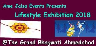 Ame Jalsa Events Presents Lifestyle Exhibition 2018 at The Grand Bhagwati Ahmedabad