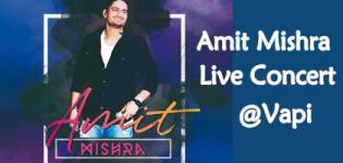Amit Mishra Live Concert 2019 in Vapi on 1st May