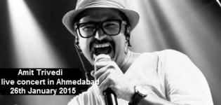 Amit Trivedi Live in Concert 2015 at IIM Ahmedabad Gujarat on 25 January 2015