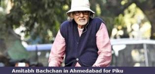 Amitabh Bachchan in Ahmedabad Gujarat for Shooting of Piku Hindi Movie