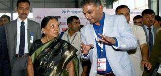 Anandiben Patel Visits Vibrant Gujarat Infrastructure & Property Show 2015 on 13 Jan 2015