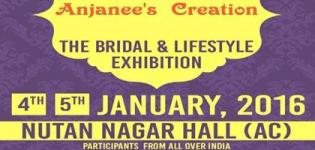 Anjanees Creation Wedding and Lifestyle Exhibition 2016 in Rajkot at Nutannagar Hall