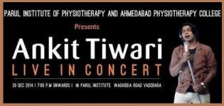 Ankit Tiwari Live in Concert 2014 in Vadodara Gujarat on 20 December
