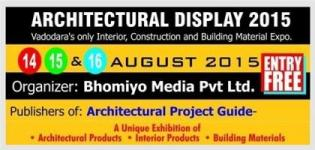 Architectural Display 2015 in Vadodara - Exhibition on Interior Products / Building Materials