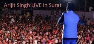 Arijit Singh in Surat 2014  � Arijit Singh Live in Concert at Surat Maniba Park