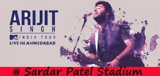 Arijit Singh Live Concert in Ahmedabad 2018 at Sardar Patel Stadium on 24th February