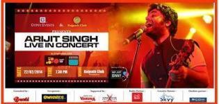 Arijit Singh Live in Concert 2014 in Ahmedabad Gujarat