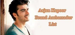 Arjun Kapoor Brand Ambassador List - Endorsement Photo Gallery