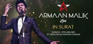 Armaan Malik Live Concert 2017 in Surat at Pandit Dindayal Upadhyay Indoor Stadium