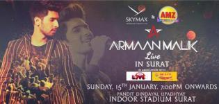 Armaan Malik Live in Surat - Live Concert 2017 at Pandit Dindayal Upadhyay Indoor Stadium