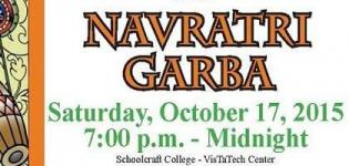 Asian Student Cultural Association Presents Navratri 2015 at Schoolcraft College MI
