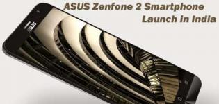 Asus Zenfone 2 ZE550ML Smartphone Launch in India - Price Features and Full Specification