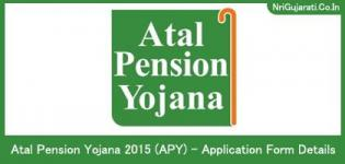 Atal Pension Yojana 2015 (APY) - Application Form Date Information & Details in Gujarati