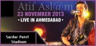 Atif Aslam Live Concert at Ahmedabad 2013 - Atif Aslam in Ahmedabad