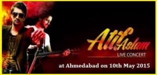 Atif Aslam Live in Concert at Karnavati Club Ahmedabad on 10 May 2015