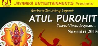 Atul Purohit in Bey Area San Jose for Navratri 2015 by Javanika Entertainments