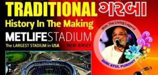 Atul Purohit Navratri Night in New Jersey USA - The Biggest Traditional Garba NJ 2014