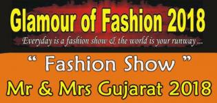 Audition for Glamour Fashion Mr & Miss Gujarat 2018 - Date and Venue Details
