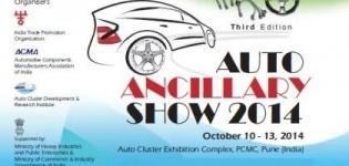 Auto Ancillary Show 2014 Pune - 3rd Edition of Auto Ancillary Show on 10 to 13 October