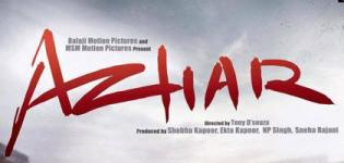 Azhar Hindi Movie Release Date 2016 - Star Cast & Crew