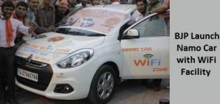 BJP Launch Namo Cars with WiFi Facility - Virtual World Tour in Ahmedabad