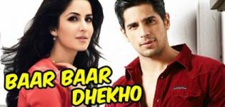 Baar Baar Dekho Hindi Movie 2016 - Release Date and Star Cast Crew Details