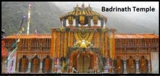 Opening Date of Badrinath Temple 2015 - Badrinath Yatra Starting Date 2015