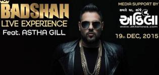 Badshah and Astha Gill Live Concert in Rajkot at Elegance Party Plot on 19 December