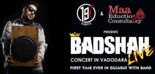 Badshah Live Concert in Vadodara on 18th June 2016 at Sigma Group of Institutes