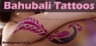 Bahubali Tattoos Design - Latest Baahubali Movie Fame Romantic Matching Tattoos for Couples