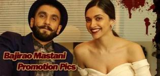 Bajirao Mastani Promotion Pics 2015 - Deepika Padukone and Ranveer Singh Latest Photos