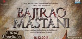 Bajirao Mastani Showtimes in Surat - Bajirao Mastani Movie Show Timings Surat Cinemas Theaters