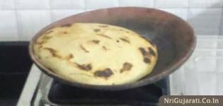 Bajra No Rotla - What to Eat with Desi Gujarati Food 'Bajra No Rotlo with Ghee'