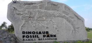Balasinor Dinosaur Fossil Park Gujarat - Jurassic Park and Dynasore Museum in Raiyoli-Balsinor India