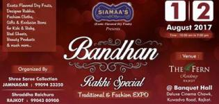Bandhan Traditional and Fashion Expo 2017 in Rajkot at The Fern Hotel