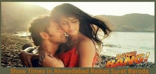 Bang Bang Hindi Movie 2014 ShowTimes - Ahmedabad  Vadodara  Surat  Rajkot