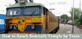 How to Reach Somnath Temple by Train??