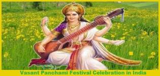 Basant Panchami Date 2016 India - Festival Celebration of Vasant Panchami