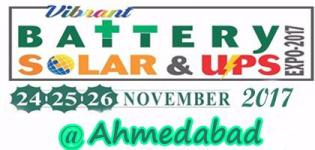 Battery Solar & Ups Expo 2017 in Ahmedabad - Auto Show Event Date Venue Details